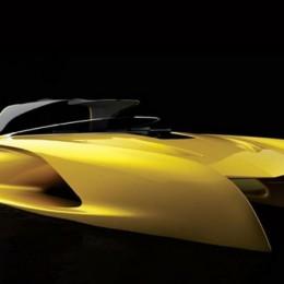Salomé Yacht представил концепт катера, основанный на Bugatti La Voiture Noire