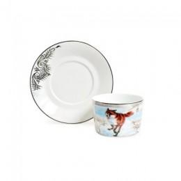 Чайная пара «Охота на лису с гончими»
