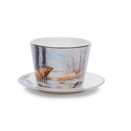 Чайный набор «Охота на оленя»