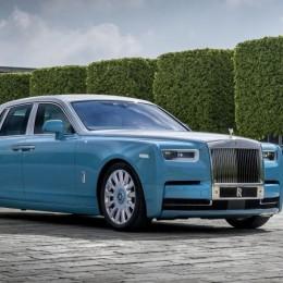 Rolls Royce представил Horology Phantom в честь часовщиков