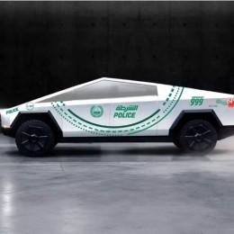 Tesla Cybertruck может присоединиться к другим экзотическим автомобилям дубайской полиции
