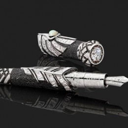 Montblanc Celebration of the Taj Mahal, Limited Edition Black Myth