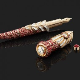 Роскошь махараджей: Montblanc High Artistry, A Celebration of the Taj Mahal