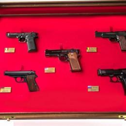 Набор из 5 пистолетов мира (1:2)