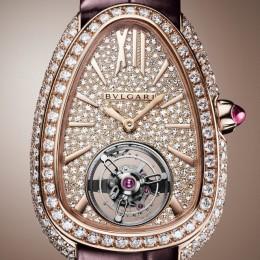 Часы Bvlgari Serpenti Seduttori Tourbillon дебютируют в Дубае