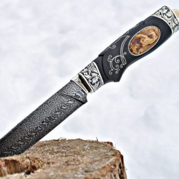 Нож на подставке Горностай