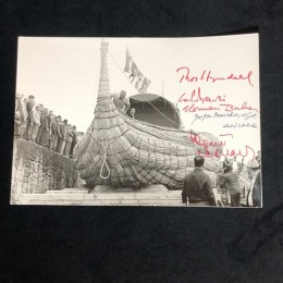 Автограф Тур Хейердал, Сенкевича (на фото)