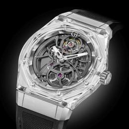 Laureato Absolute Light от Girard-Perregaux – изумительные часы, поднимающие понятие прозрачности на новый уровень