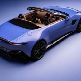 Новый Aston Martin Vantage Roadster имеет самую быстро складывающуюся крышу