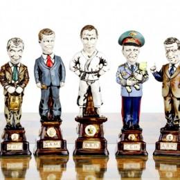 Шахматы Политики 21 века (фарфор)