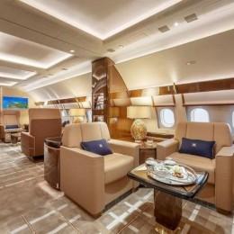 Роскошь в небесах: Частный самолет Airbus за 110 миллионов долларов