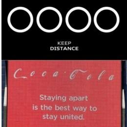 Культовые бренды переписали свои слоганы для поощрения социального дистанцирования