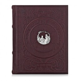 Книга «Мастер и Маргарита» (кожа, серебро)