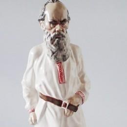 Статуэтка Лев Толстой h=33 см (фарфор)