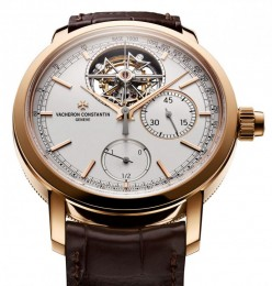 Vacheron Constantin совместил хронограф c турбийоном за 197000 $