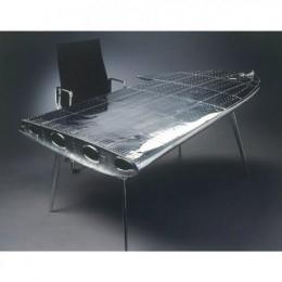 Эксклюзив: диван из топливного бака Миг-2