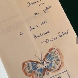 Владимир Набоков (Книга с рукописным пожеланием)