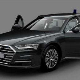 В России эксклюзивно вышел бронированный лимузин Audi A8L