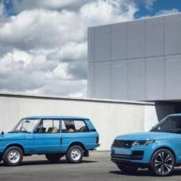 Range Rover отпраздновал 50-летие особой моделью