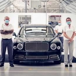 11 лет спустя и 7300 экземпляров Bentley Mulsanne сошли с конвейера