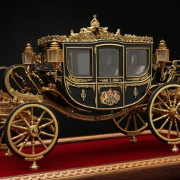 Модель 1:15 карета Бриллиантового юбилея королевы Великобритании