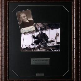 Борис Россинский (автограф на фото)