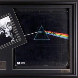 Роджер Уотерс, Pink Floyd (автограф на обложке пластинки)