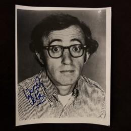 Вуди Аллен (автограф на фото)
