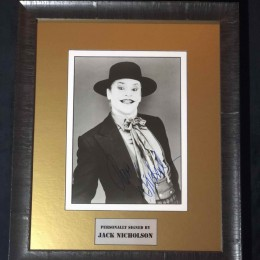 Джек Николсон (автограф на фото Джокер)