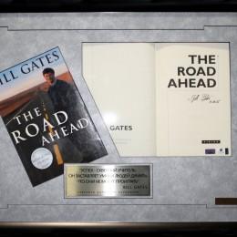 Билл Гейтс (автограф в книге)