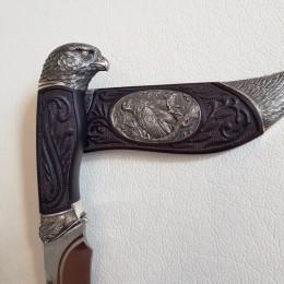 Нож с нержавеющим булатом Кречет