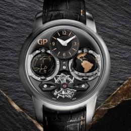 Girard-Perregaux представил часы Cosmos Infinity Edition из изумительного черного оникса