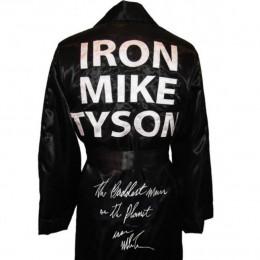 Плащ Майка Тайсона с автографом