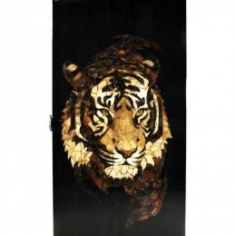 Нарды Тигр в ночи (орех, янтарь)