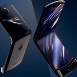 Motorola и Montblanc создают особый складной телефон RAZR 5G