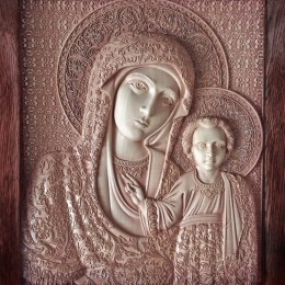 Казанская икона Пресвятой Богородицы (дерево)