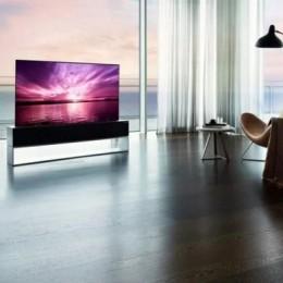 LG сделал рулонируемый OLED телевизор, который стоит дороже, чем Tesla Model S