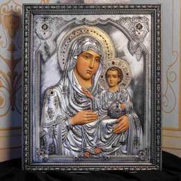 Иерусалимская икона Пресвятой Богородицы (дерево, камни)