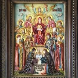 Икона Похвала Пресвятой Богородицы (Киевская)