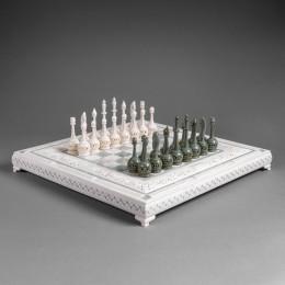 Шахматы из бивня мамонта Арабские