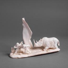 Скульптура Шерстистый Носорог