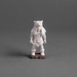 Скульптура Охотник с топором (h=10 см)