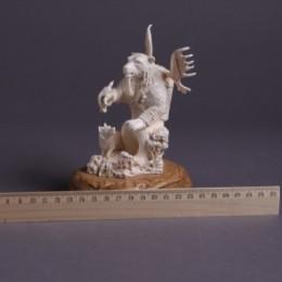 Скульптура Лесной дух-медведь
