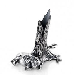 Подставка под ручку «Свинья под дубом»