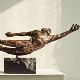 Скульптура из бронзы Лев Яшин