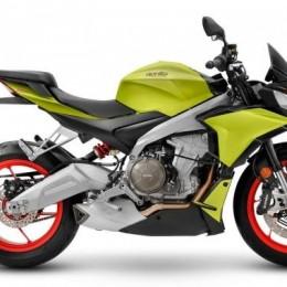 Новый мотоцикл Aprilia Tuono 660 с идеальным итальянским дизайном