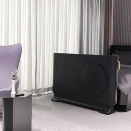 LG представил концепт кровати с тайным прозрачным OLED ТВ