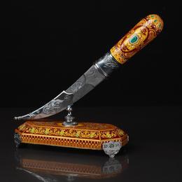 "Авторский нож ""Изумруд"""
