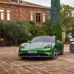 Спортивный электромобиль Porsche Taycan Cross Turismo 2022 уже здесь