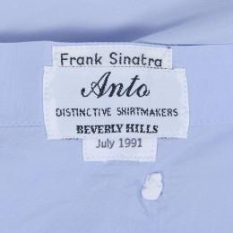 Автограф Фрэнка Синатры на концертной рубашке